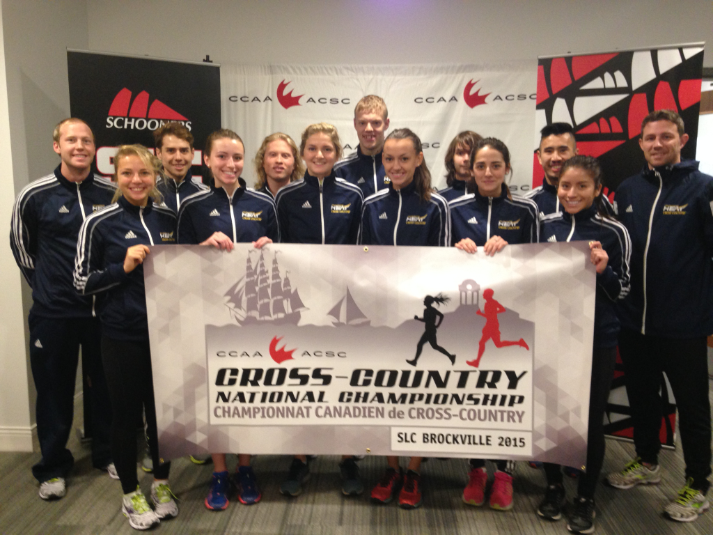 UBCO Cross Country Team