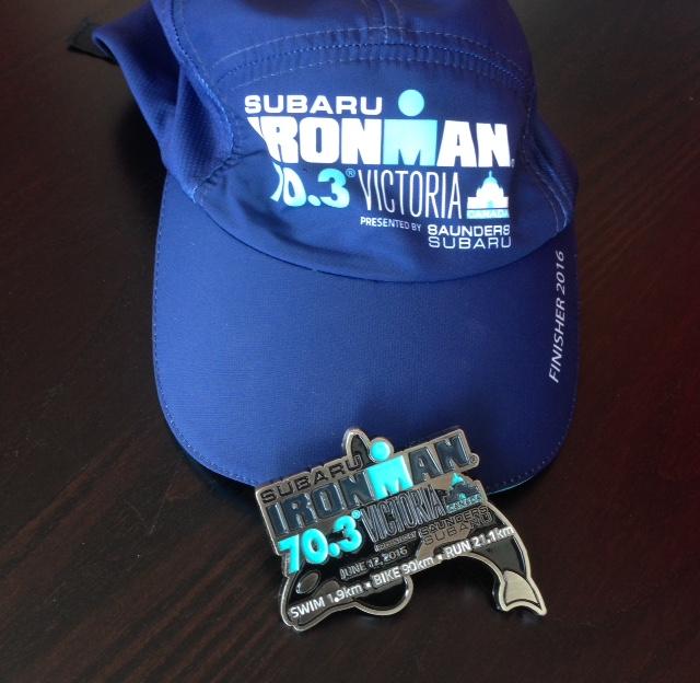 Victoria Ironman 70.3