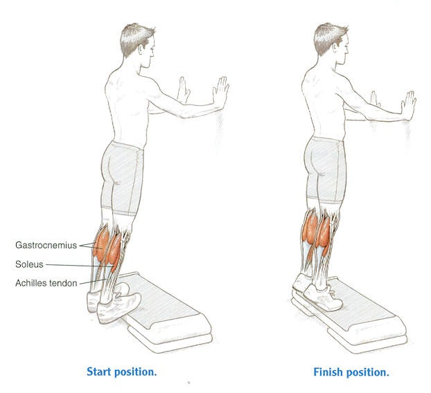Our Guide To Stretching Calf Muscles | Kintec: Footwear ...
