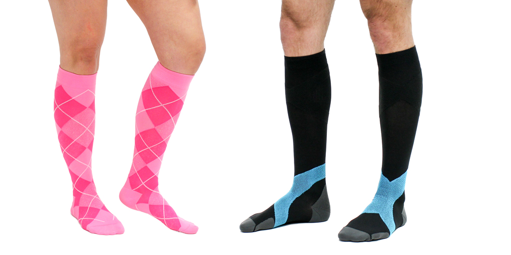 "If you're wondering ""Which compression socks should I wear?"", here are everyday compression sock styles."