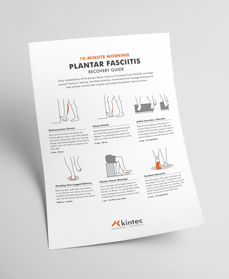 photo regarding Plantar Fasciitis Exercises Printable named 10-Instant Plantar Fasciitis Restoration Expert Kintec